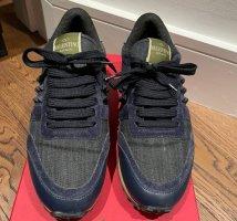 Valentino Rockstud jean sneakers