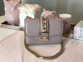 Valentino Rockstud Lock Mini Handtasche Rosa