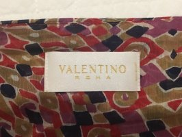 Valentino Roma Pleated Skirt multicolored cotton