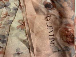 Valentino RED Jedwabny szal Wielokolorowy Jedwab