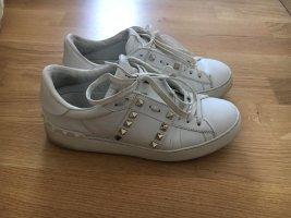 Valentino Sneaker stringata bianco-argento