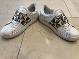 C. Valentino Slip-on Sneakers white leather
