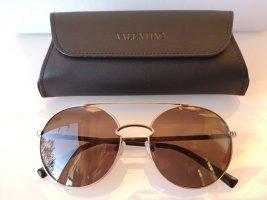 Valentino Round Sunglasses multicolored metal