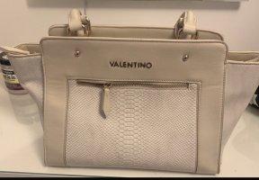 Alex Valentino Bolso crema-blanco puro Cuero