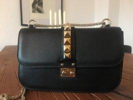 VALENTINO Tasche Rockstud Crossbody Bag Lock Medium Nero