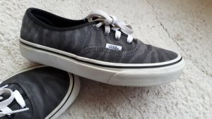Vans Authentic (Wild-)leder Zebramuster