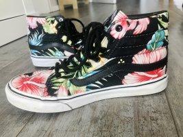 Vans high top Hawaiian skater sneaker