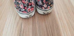 Vans Zapatos de patinador gris oscuro-rosa