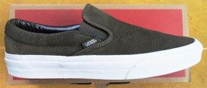 Vans Leder- Sneaker olivgrün Gr. 40 NEU