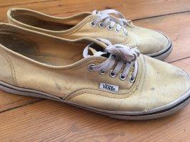 Vans Chaussure skate jaune primevère