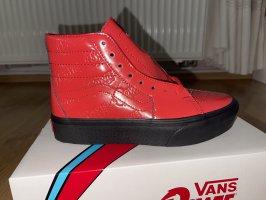 Vans Platform Trainers red-black