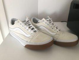 Vans Skater Shoes white-ocher
