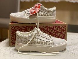 Vans Heel Sneakers oatmeal-pale yellow