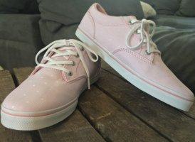 Vans Zapatos de patinador blanco-rosa claro