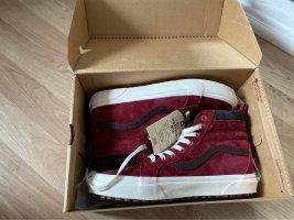 Vans High top sneaker bordeaux-donkerbruin