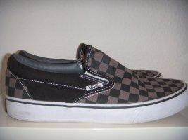Vans Slip On - checkerboard in 38,5 schwarz/grau - wie neu