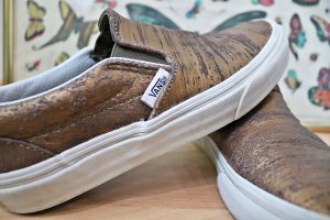 Vans Slip-On Sneaker (Bronze)