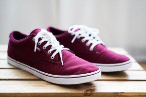 Vans Sneaker, Bordeaux, Größe 41