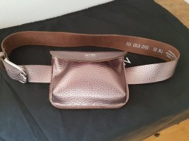 Vanzetti Bumbag rose-gold-coloured leather