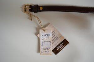 Vanzetti Leder Gürtel Gr. 80 braun Neu mit Etikett