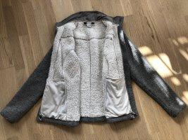 Vaude Veste d'extérieur gris-blanc cassé polyester