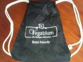 Vegablum Beutel kleine Tasche von veganem Honighersteller Baumwolle Vegan Vegetarisch