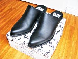 vegane Mules Good Guys Gr. 39 vegane Schuhe Clogs schwarz neu
