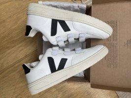 Veja Hook-and-loop fastener Sneakers black-white