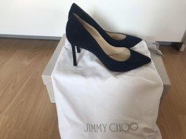 Jimmy Choo High Heels dark blue