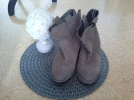 Catwalk Wedge Booties bronze-colored