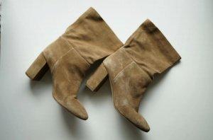 H&M Slip-on Booties light brown