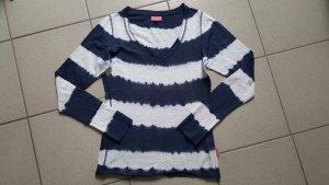 Venice beach Koszulka typu batik ciemnoniebieski-biały Bawełna