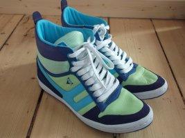 Venice High-Top Sneaker Gr. 40 blau grün türkis lila