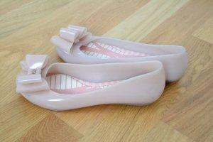 Venyl Ballerinas mit Schleifenbesatz von Zaxy Gr. 37