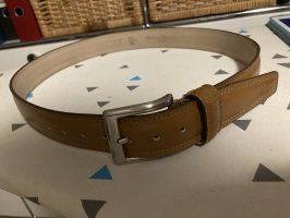 Vera Pelle Leather Belt camel