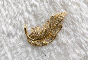 Spilla oro-argento
