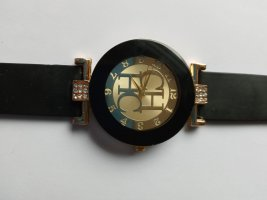 Analog Watch gold-colored-black