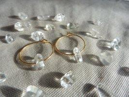 keine Marke Gouden oorbellen goud