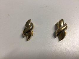 Vergoldete Vintage Grossé Ohrclips