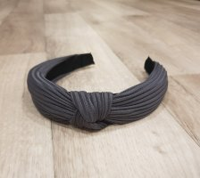 Cerchietto per capelli grigio scuro