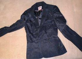 Verkaufe schwarzen, glitzernden, glänzenden Blazer
