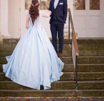 Corsage Dress light blue-baby blue
