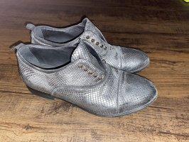 Vero Cuoio Zapatos sin cordones color plata