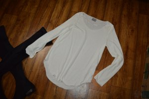Vero Moda Basic Shirt in weiss Gr. 40