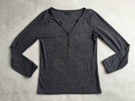 vero moda bluse grau gr. s 36 basic