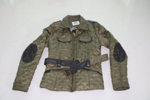 Vero Moda Quilted Jacket khaki-brown polyester