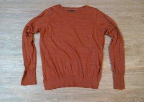 Vero Moda Damen Pullover Sweatshirt Terrakotta XS Orange