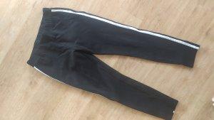 Vero Moda Leggins Hose schwarz weiß mit Streifen Gr. L