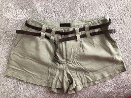 Vero Moda High waist short groen-grijs-grijs-groen
