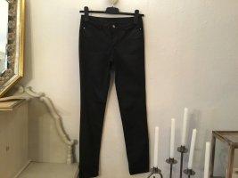 Vero Moda Super Skinny Jeans, schwarz, Gr.27/32, Lederoptik, kostenloser Versand